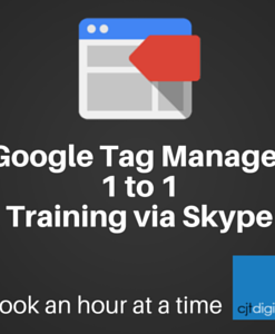 Google Tag Manager Training hour sessions via skype